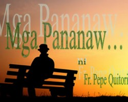 Mga Pananaw – Red Wednesday