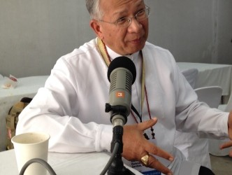 January 28, 2016 (Day 5) – Interview with Most Rev. Rolando Santos, CM of Papua New Guinea