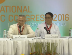 January 27, 2016 (Day 4) – Press Conference at the IEC Pavilion
