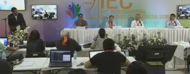 January 28, 2016 (Day 5) – Press Conference at the IEC Pavilion