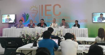 January 29, 2016 (Day 6) – Press Conference at the IEC Pavilion